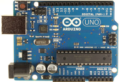Arduino sketch panel