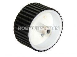 Tracked wheel for DC motors 4cm width