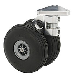 CASTER WHEEL,6.8oz,3.9in