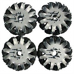 8'' Mecanum Wheel Set