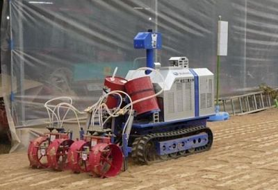 Soil Sterilization Robot