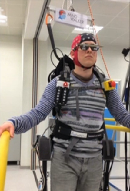 Mind-controlled exoskeleton