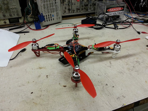 My First Quadrotor