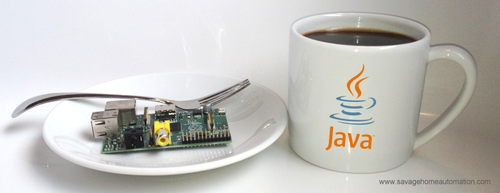 Installing Oracle Java Development Kit (photo source savagehomeautomation.com)
