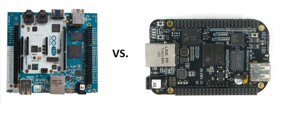 Arduino Tre vs BeagleBone Black
