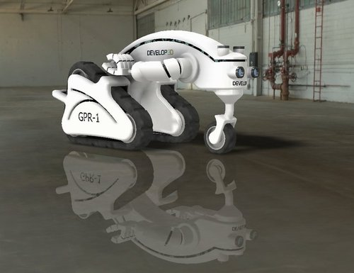 """Robot for """"Develop 3D"""" Competition"""