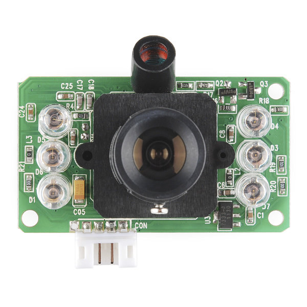 Color Serial JPEG Infrared Camera Module