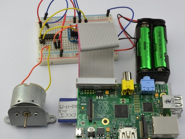 Control Stepper Motors With Raspberry Pi Tutorials And