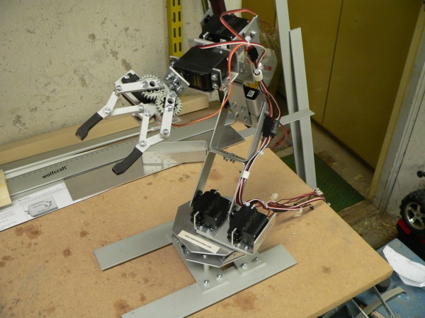 Building a Robot Arm