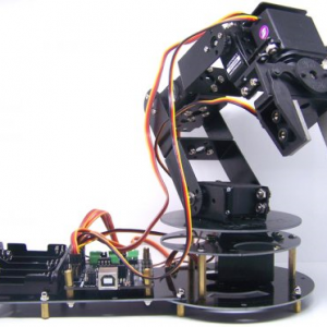 bluetooth controlled robot arm
