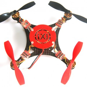 This is how the Micro Quad-Copter looks assembled