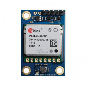The PAM-7Q GPS Module