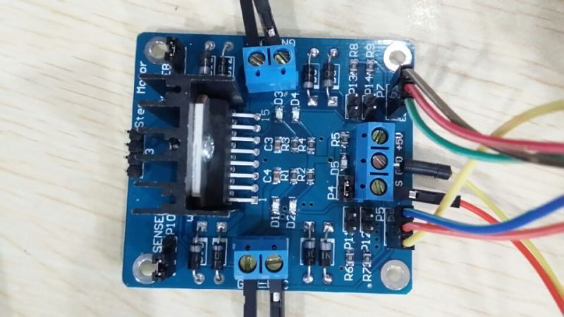 The DC Motor Driver Breakout