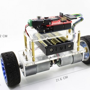 The Arduino Self-balancing Robot Called Balanbot