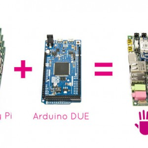 UDOO board has the power of 4 Raspberry PI and the functionality of Arduino DUE