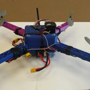 3D Printed Quadcopter with ArduPilot