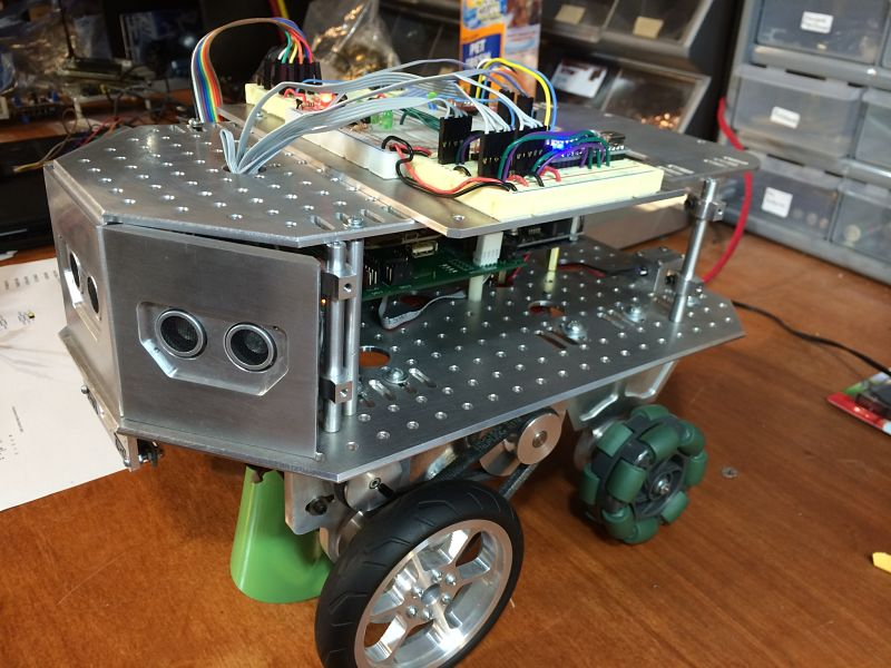 Prowlerbot Wheeled Robot