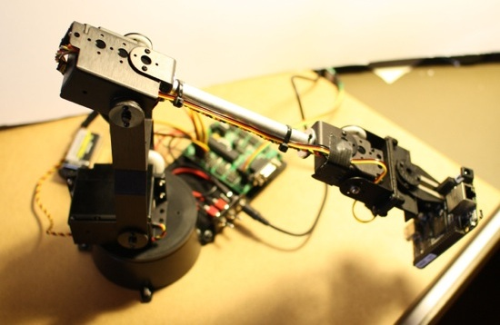 Robotic Arm Control from the BeagleBone Black