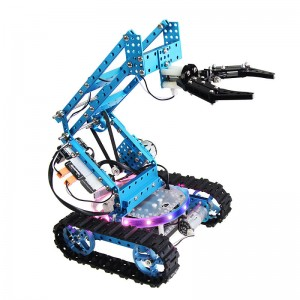 The Ultimate Robot Kit-Blue