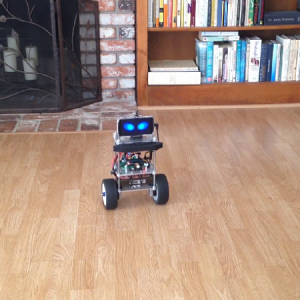 Balancing robot with a single PID controller to keep the robot in equilibrium