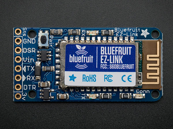 The Bluefruit EZ-Link module