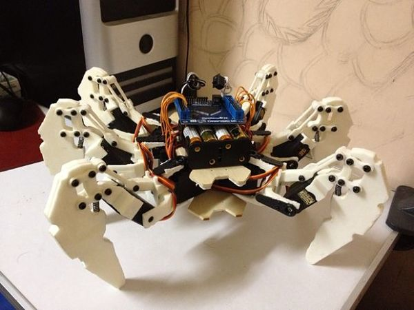 An hexapod robot based on FPGA