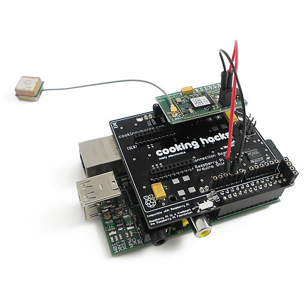 The stackable GPS shield for Pi