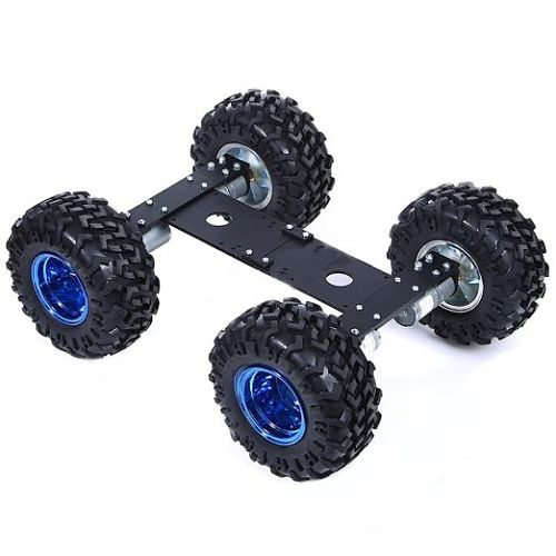 Makerfire 4WD Cross-country Type Smart Car Chassis Kits