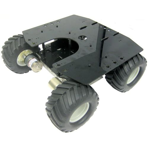 Lynxmotion Aluminum A4WD2 Rover Kit