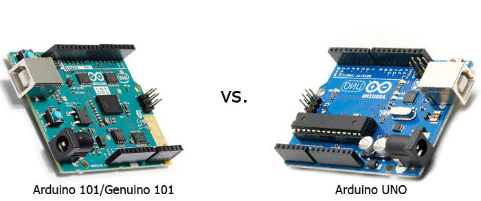 Arduino vs genuino hjem lys