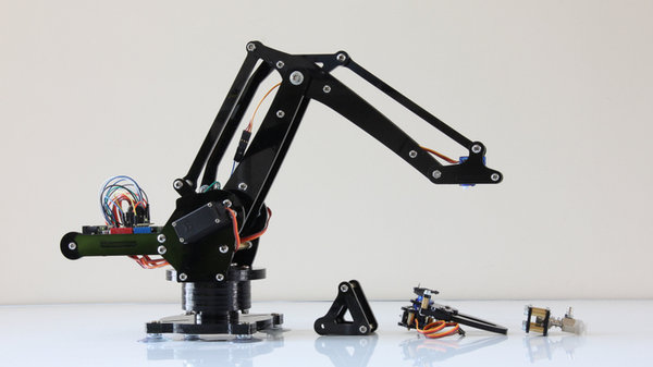 Arduino Programming For Robotic Hand Projection: Microbot