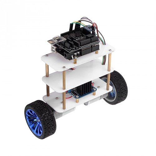 Wheeled self balancing arduino robot with totally