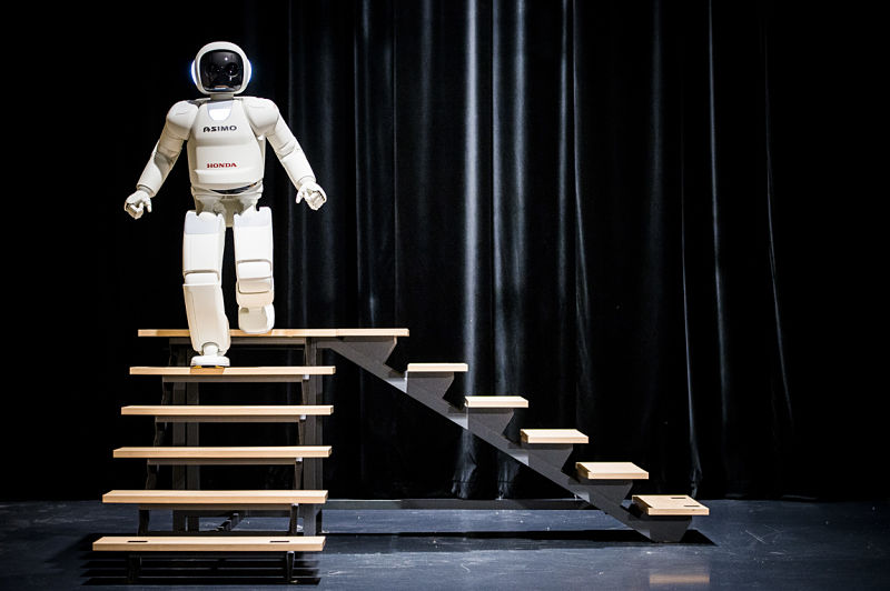 Image result for asimo stairs