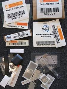 RFID Tag Sample Pack