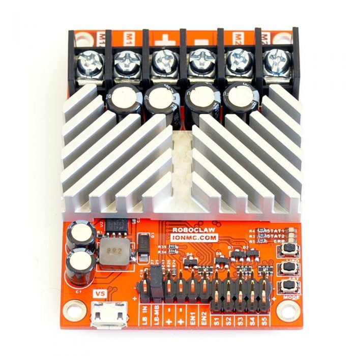 RoboClaw 2x30A Motor Controller (image source amazon.com)