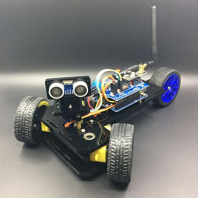 Three-wheeled Smart Car Kit for Arduino Enhanced