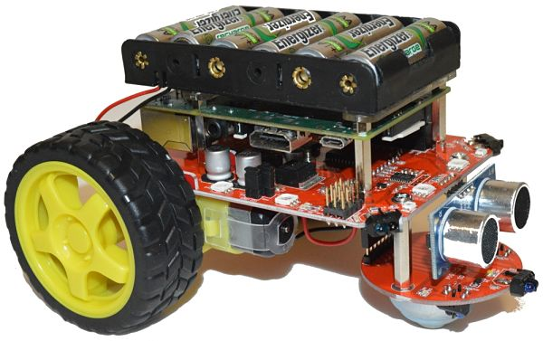 Raspberry pi 3 robot projects