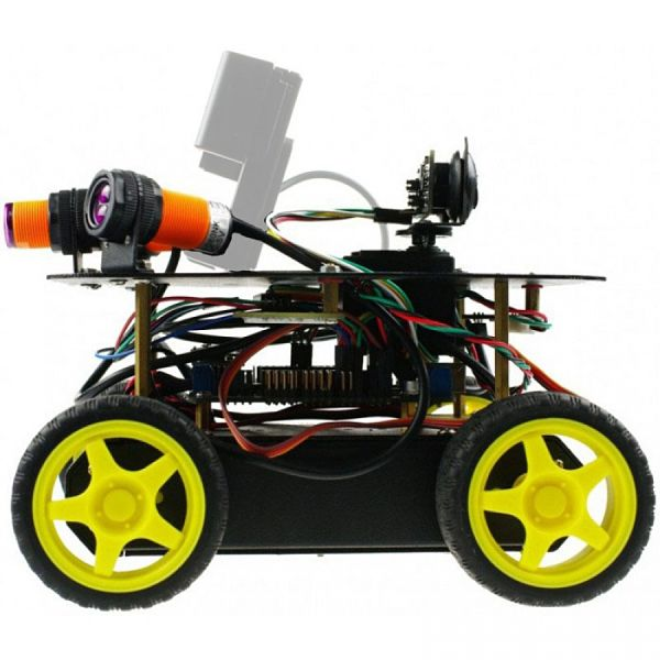 4WD Remote Control Robot Kit