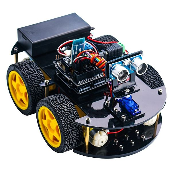 Smart Robot Car Kit with Four-wheel Drives
