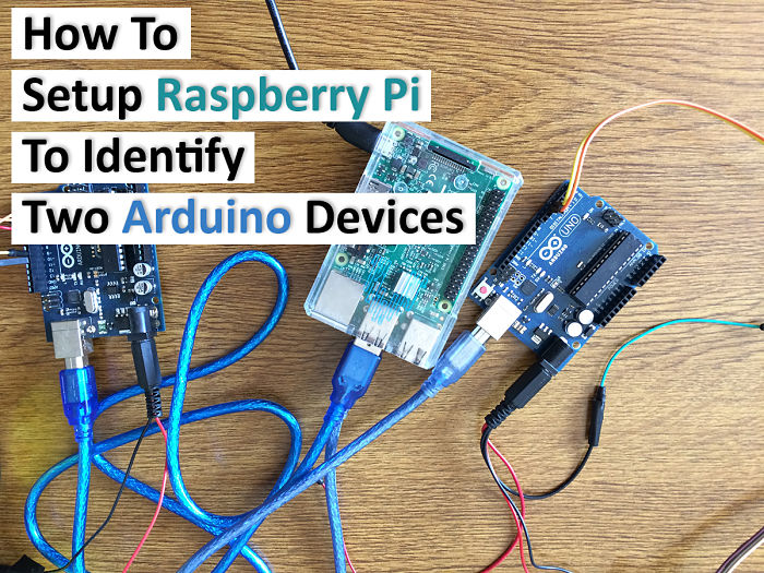 How To setup Raspberry Pi to identify two Arduino devices