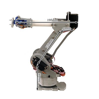 6-Axis Desktop Robotic Arm