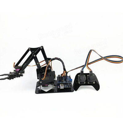 4DOF Robot Arm with Remote Control PS2